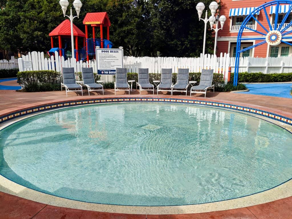 Disney's Boardwalk Villas Luna Park Pool