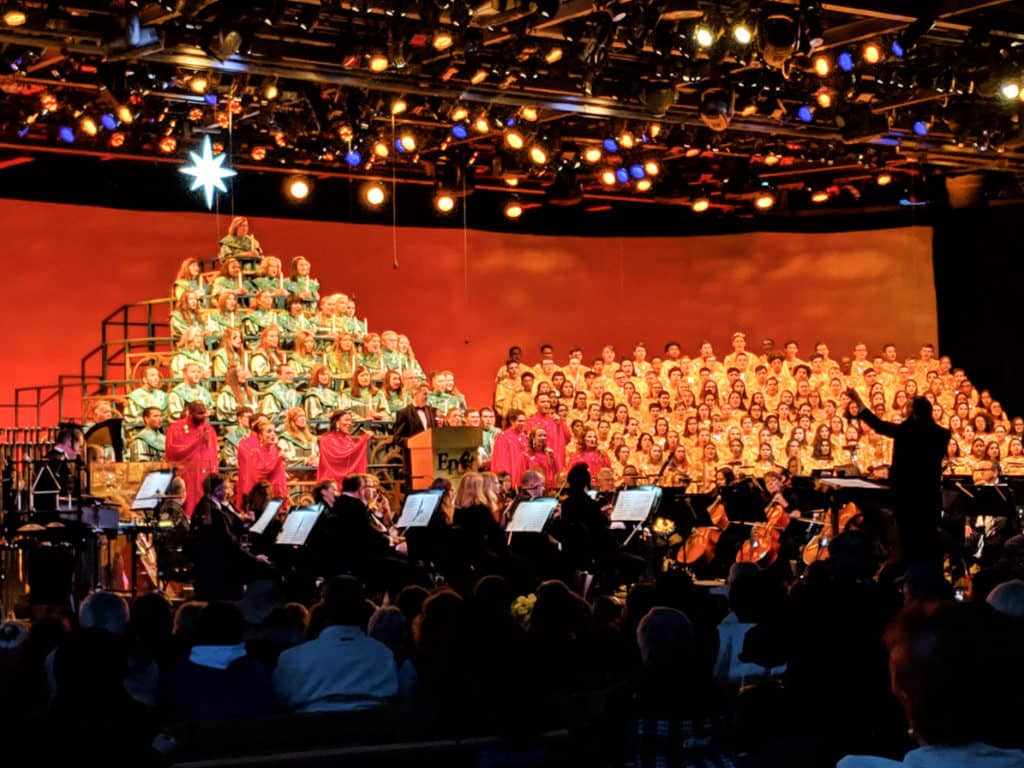Disney Add Ons Candlelight Processional