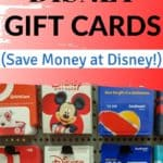 Discounted Disney gift card pin