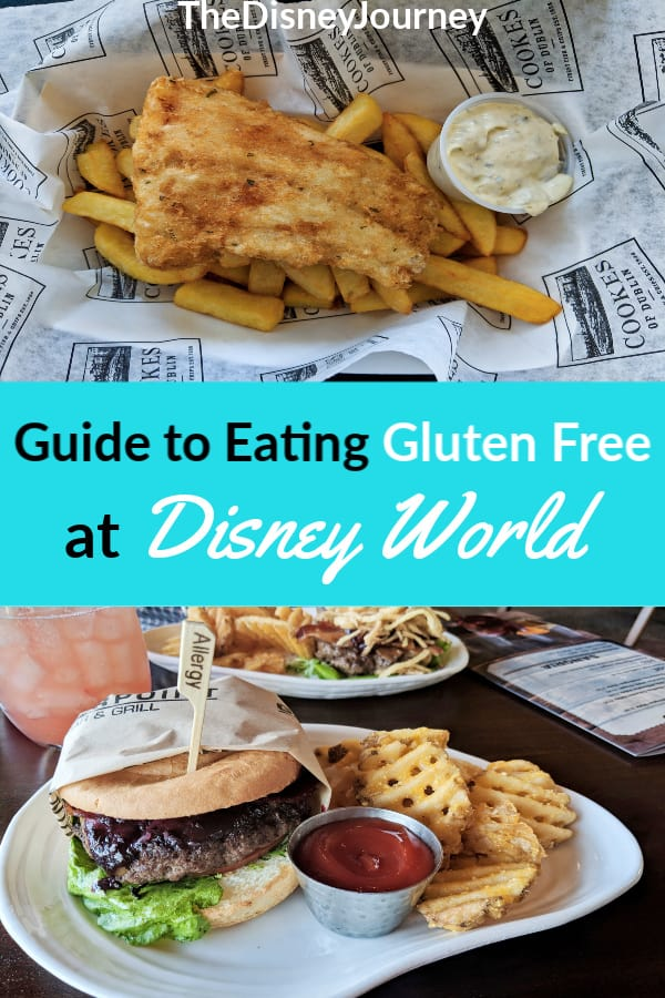 Gluten free at Disney World pin