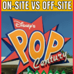 on-site vs off-site disney world hotel pin image