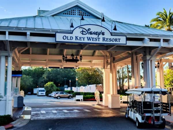Entrance of Old Key West Resort, Disney World