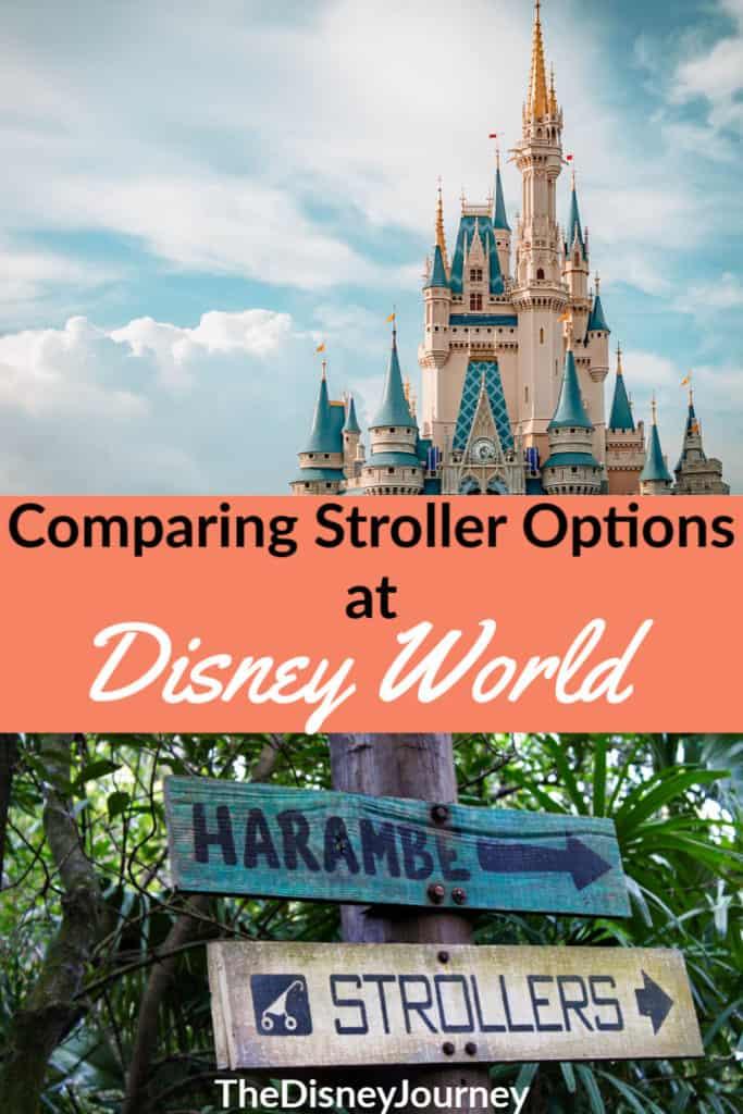 Strollers at Disney World Pin