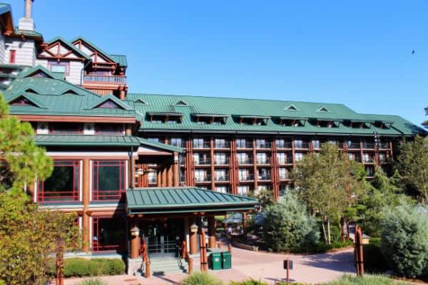 Wilderness Lodge resort exterior entrance pictures