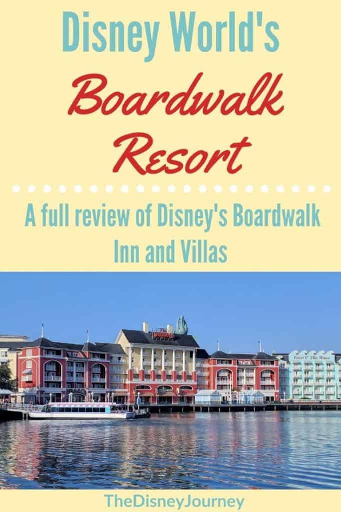Disney Boardwalk Villas Pin