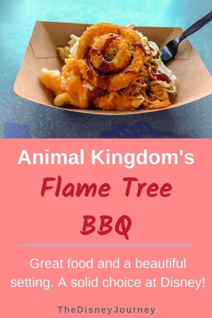Flame Tree Barbecue Pin