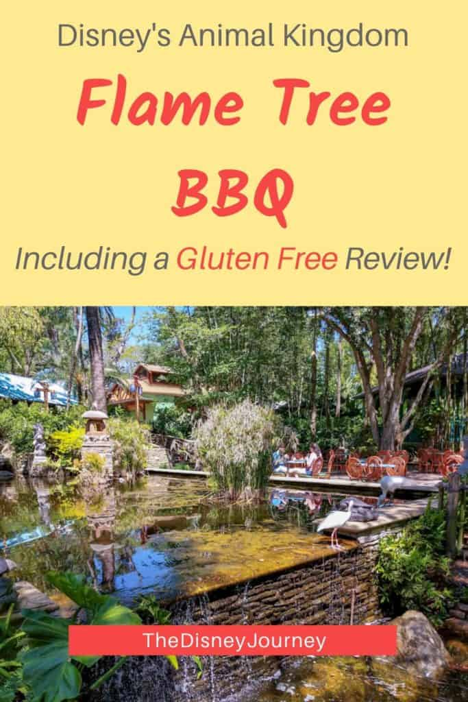 Flame Tree Restaurant at Disney's Animal Kindom Pin