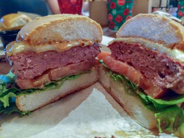 D-luxe Burger gluten free El Diablo Burger