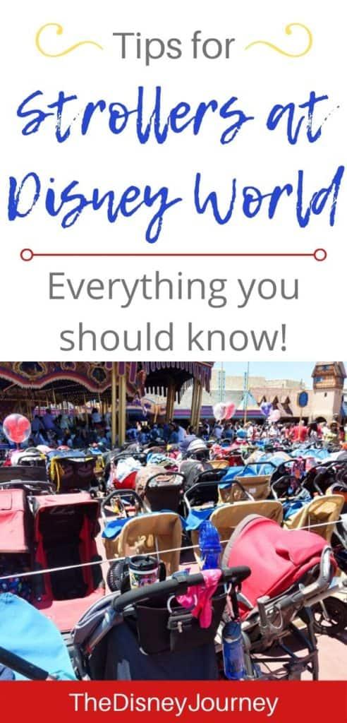 Disney World stroller tips pin