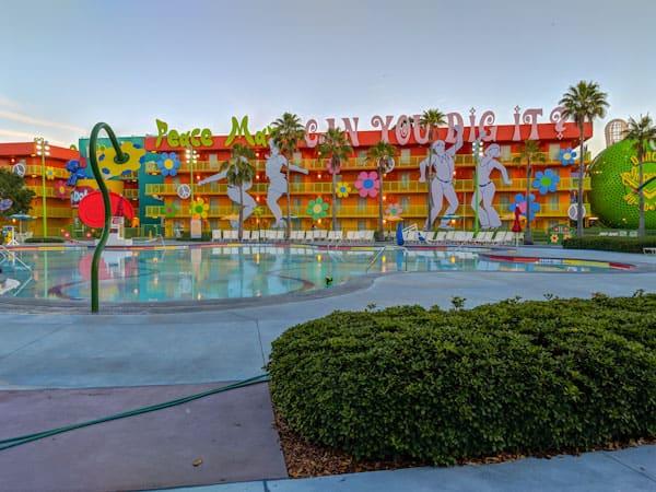 Pop century pools - Hippy Dippy Pool
