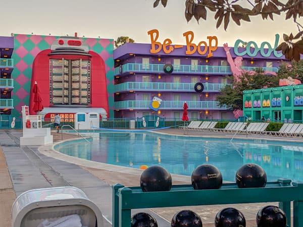 pop century pools - bowling pool
