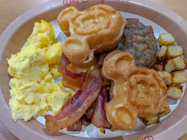 gluten free mickey waffles at Everything POP