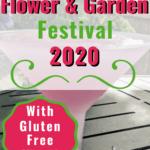 Gluten Free Flower and Garden Festival Pin Image