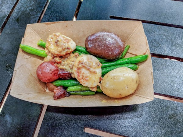 Seared Scallops at Flower and Garden Festival