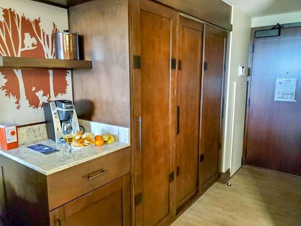 Wilderness Lodge renovated room