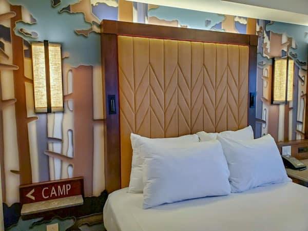 Wilderness Lodge refurbished room