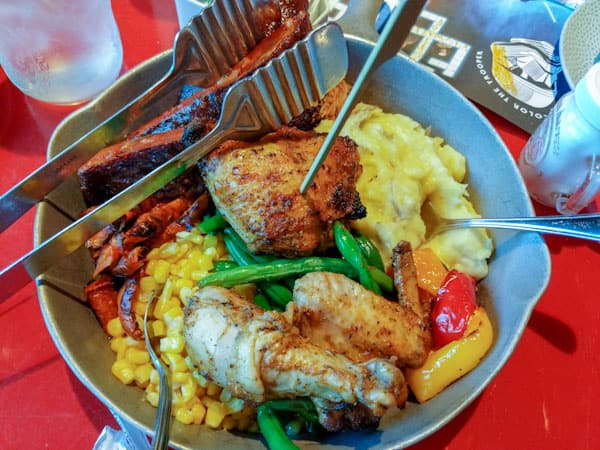 All You Care to Enjoy Skillet - The traditional at Whispering Canyon Cafe