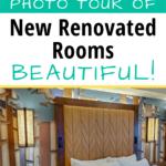 Wilderness Lodge room renovation pin image