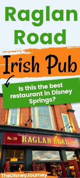 Raglan Road Irish Pub Pin Image