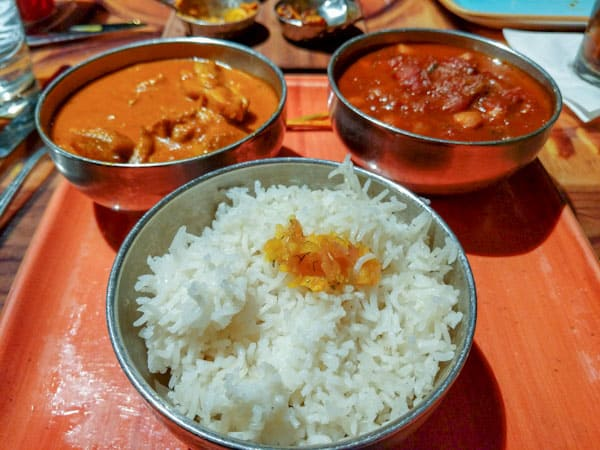 Disney Sanaa - Potjie Inspired Butter Chicken, Chickpea Wat, and Basmati Rice