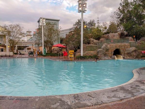 High Rock Springs Pool at Disney's Saratoga Springs Resort