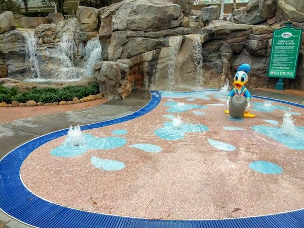 Splash Pad at High Rock Springs Pool at Saratoga Springs Resort