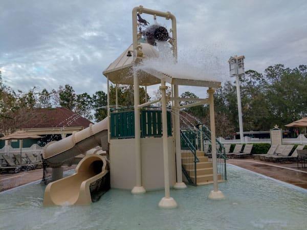 Children's area of The Paddock Pool at Saratoga Springs Resort
