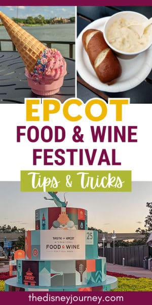 Epcot Food and Wine Festival pin image