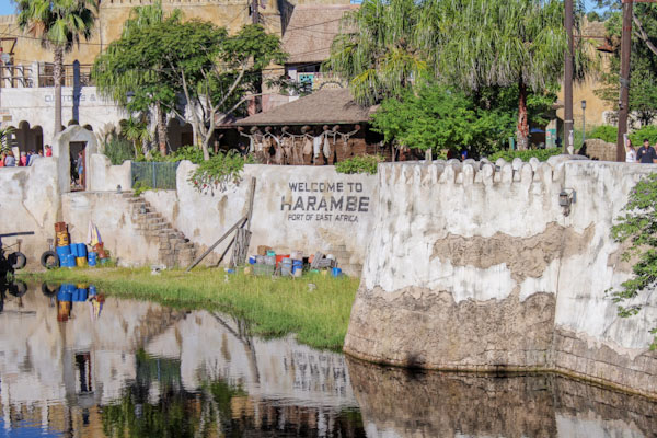 Entrance to Africa at Animal Kingdom