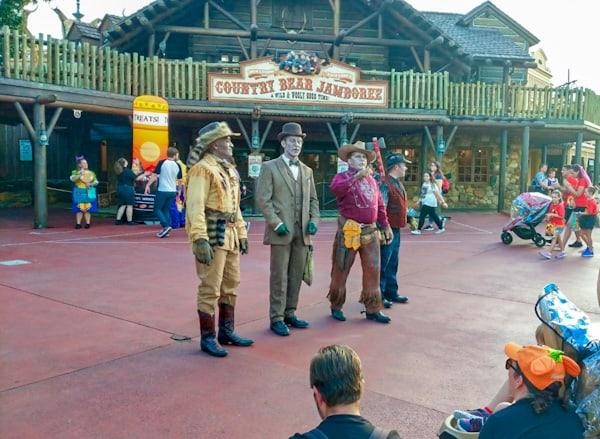 Disney world in fall - the Cadaver Dans