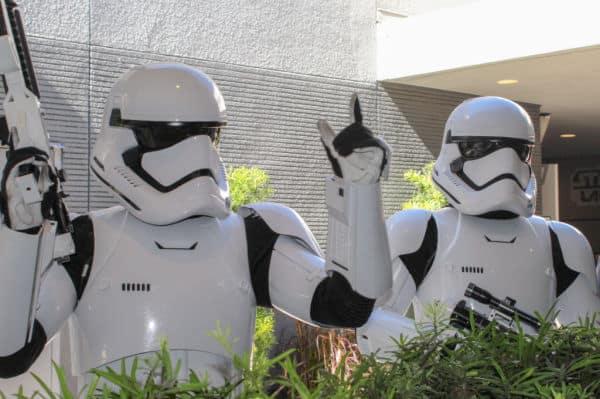 Storm Troopers at Disney Hollywood Studios