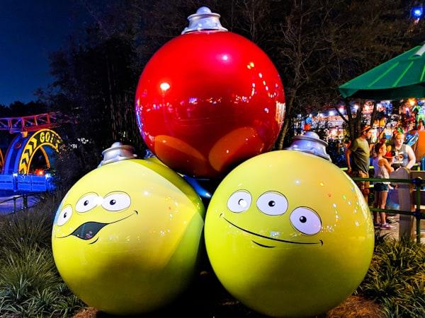 Christmas at Disney World - Toy Story Land