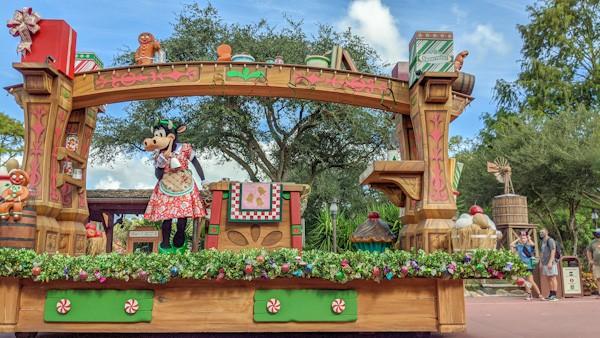 Magic Kingdom Christmas cavalcade