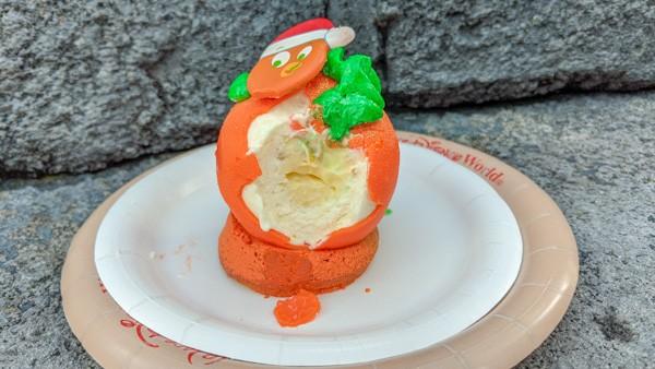 An Orange Bird Christmas, interior of treat