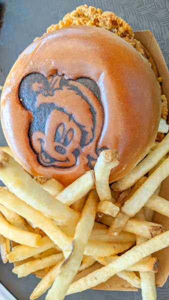 Spice Up Your Holiday Chicken Sandwich - Magic Kingdom