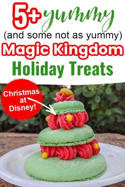 Magic Kingdom Holiday Treats Pin Image