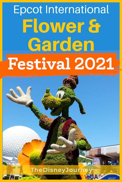 Epcot Flower and Garden Festival Pin image