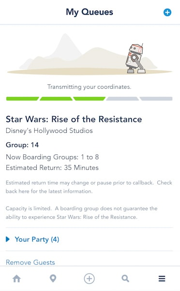 rise of the resistance virtual queue screenshot