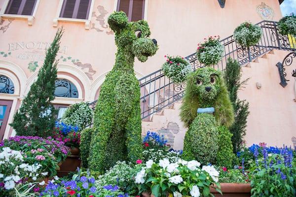 Taste of Epcot Flower and Garden Festival image released by Disney ©️Disney