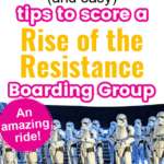 Rise of the Resistance boarding group pin image