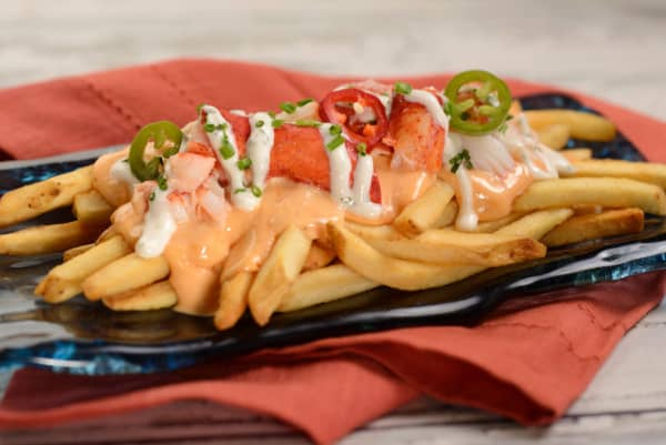 Lobster Poutine at Epcot Festival of the arts 2021