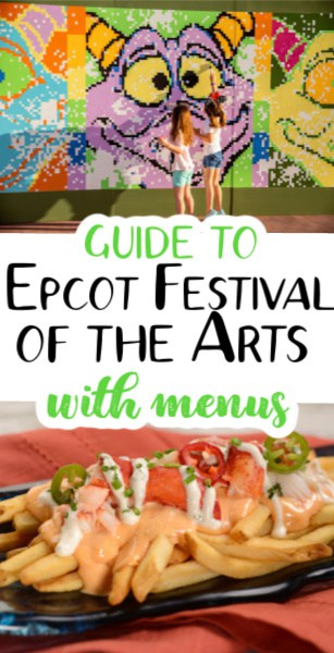 Epcot festival of the arts pin image