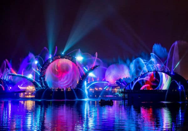 Artist rendering of Harmonious to debut at Disney's 50th Anniversary celebration