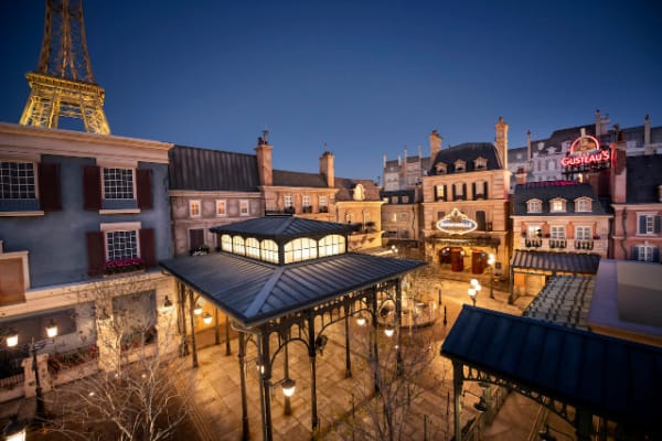 The new expansion in Epcot's France pavilion