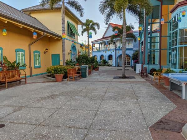 Courtyard at Disney's Caribbean Beach Resort