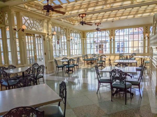 Tony's Town Square Restaurant at Magic Kingdom