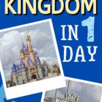 Magic Kingdom itinerary pin image