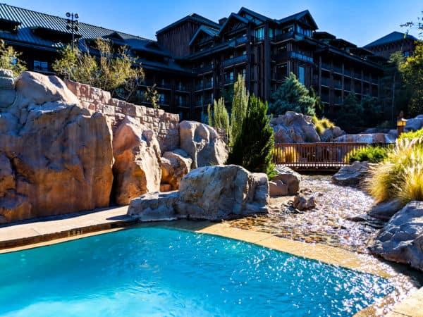 Copper Creek pool at Disney's Wilderness Lodge