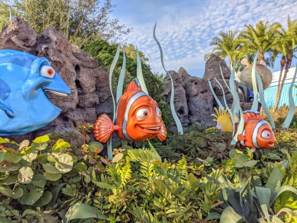 Nemo and Dory at Epcot