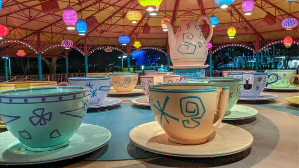Mad Tea Party ride at Magic Kingdom